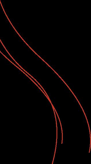 Linien von oben rechts nach unten