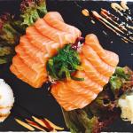 Menü 12 - Lachs Sashimi
