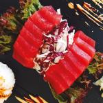 Menü 13 - Thunfisch Sashimi